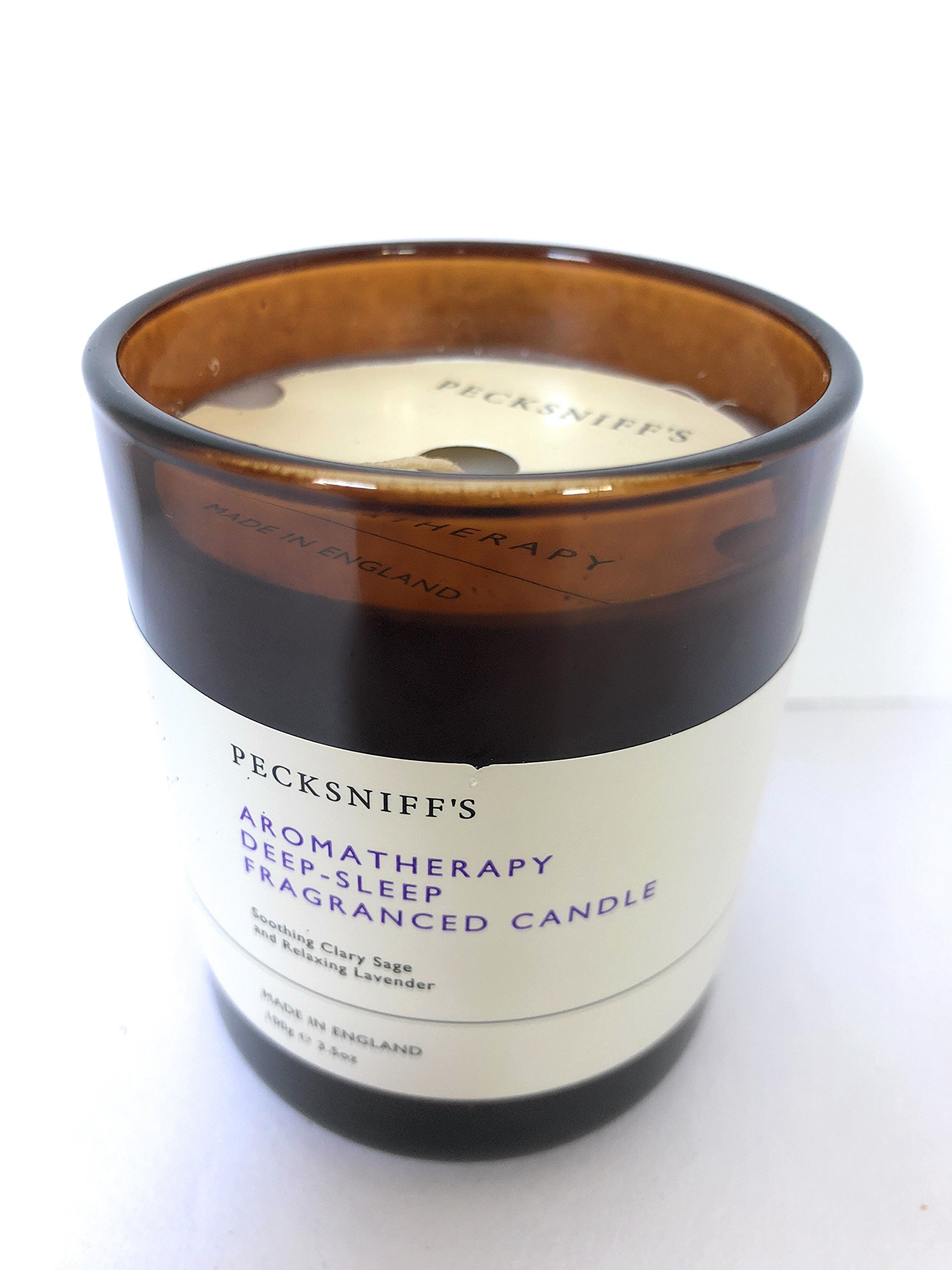 Pecksniffs - Aromatherapy Deep Sleep Candle, ClarySage & Lavender