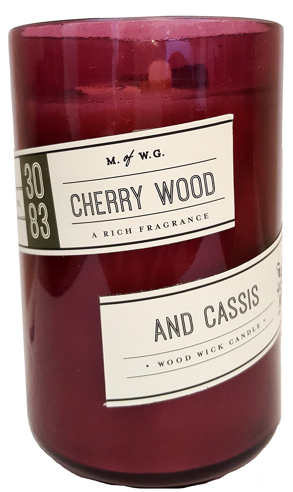 Makers of Wax  - Cherry Wood and Cassis Wood Candle