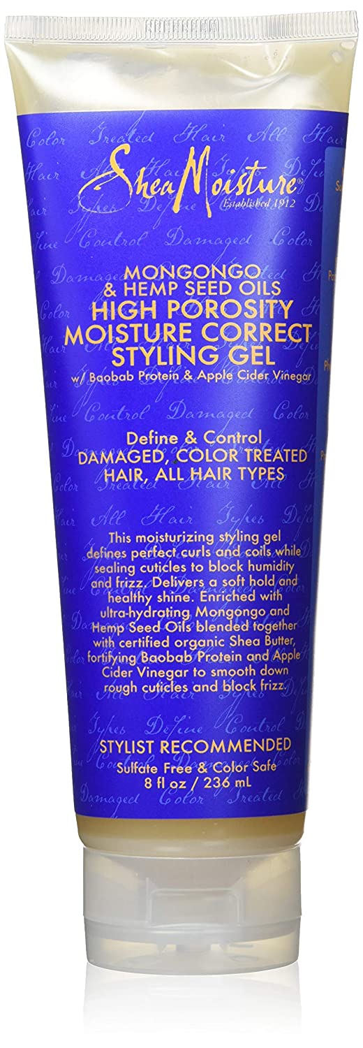Shea Moisture - Mongongo & Hemp Seed Oils High Porosity Moisture-Seal Styling Gel