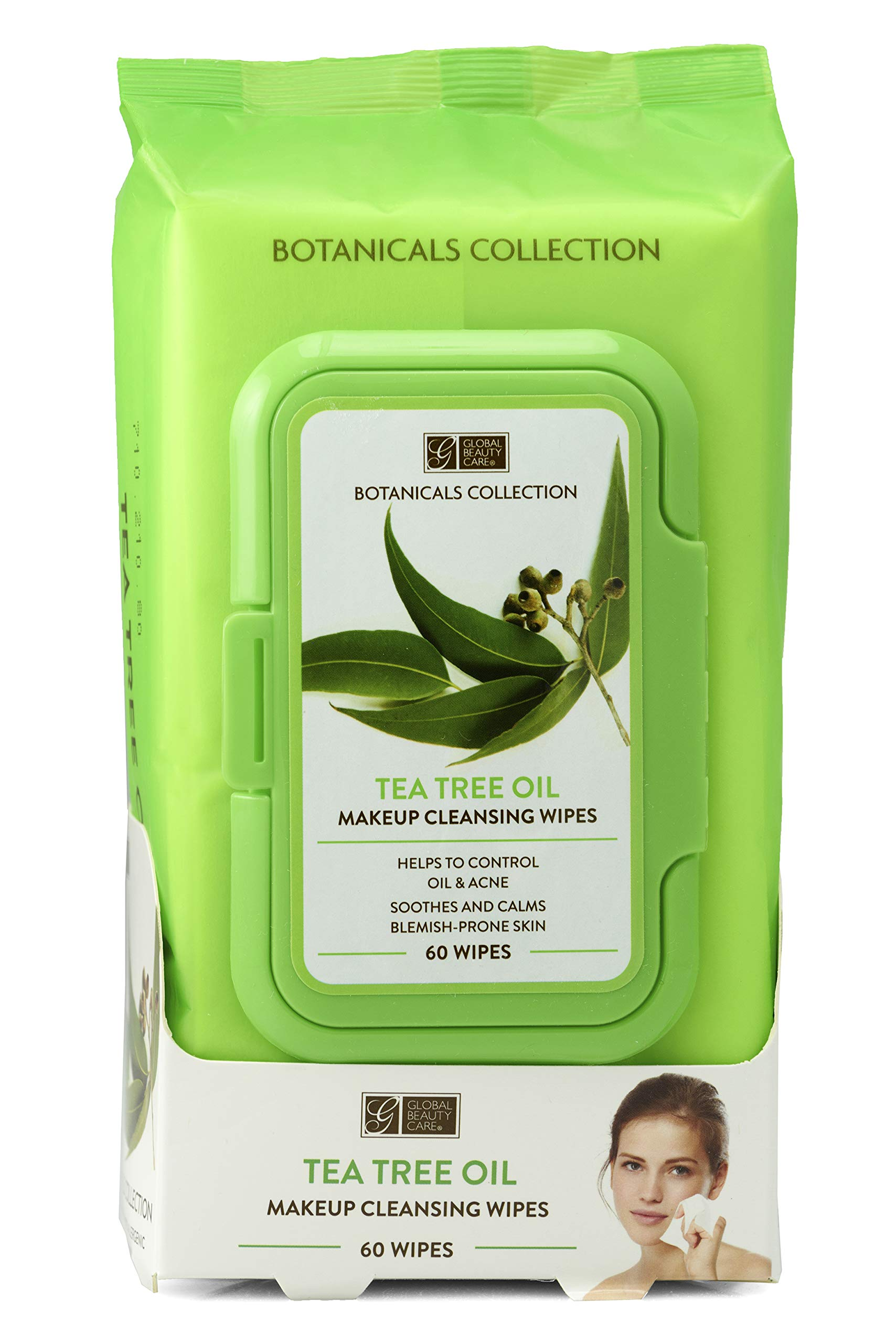Botanicals Collection - Tea Tree Makeup Cleansing Wipes