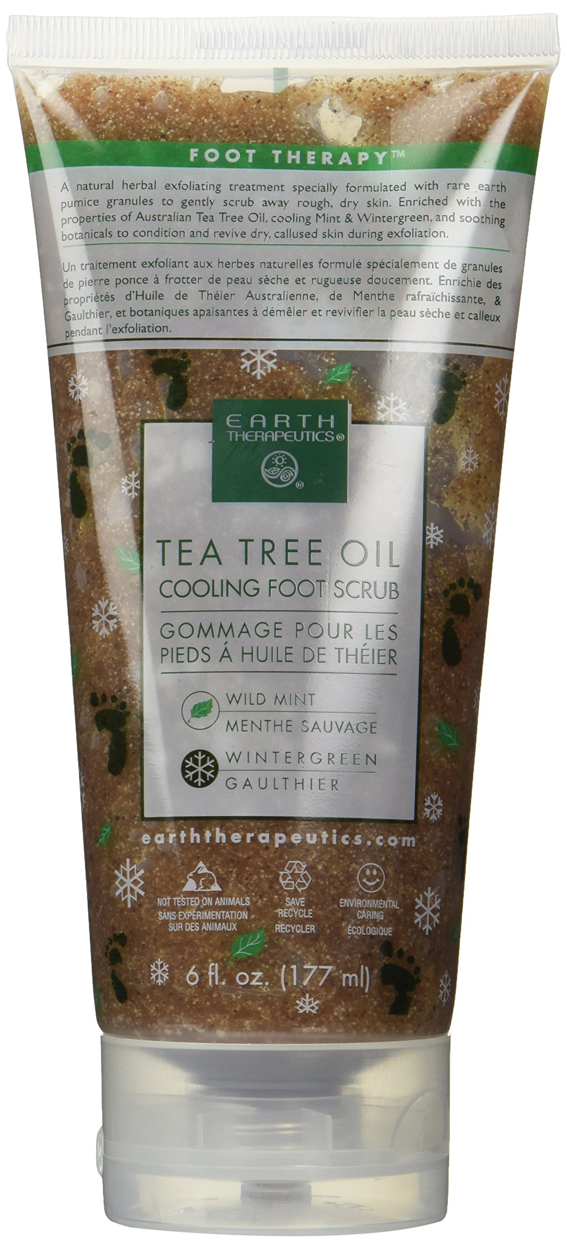 null - Tea Tree Oil Cooling Foot Scrub 6 fl. oz.