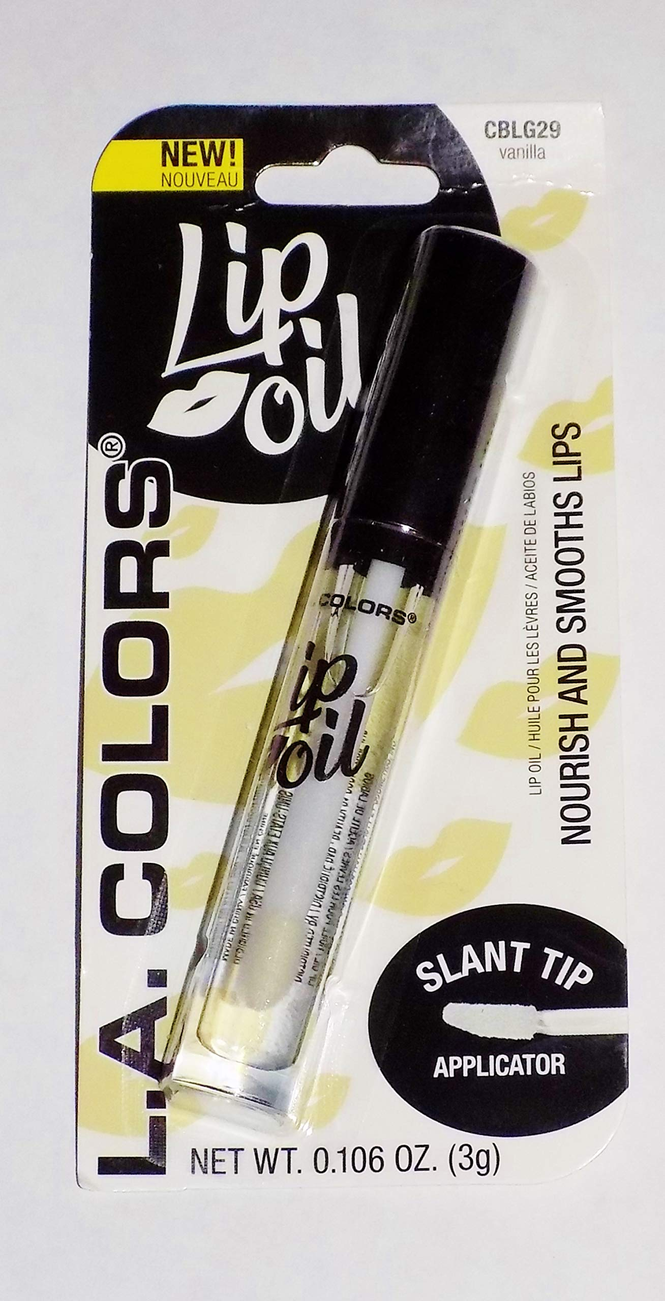 L.A. COLORS - L.A. Colors Nourishing Lip Oil, Vanilla