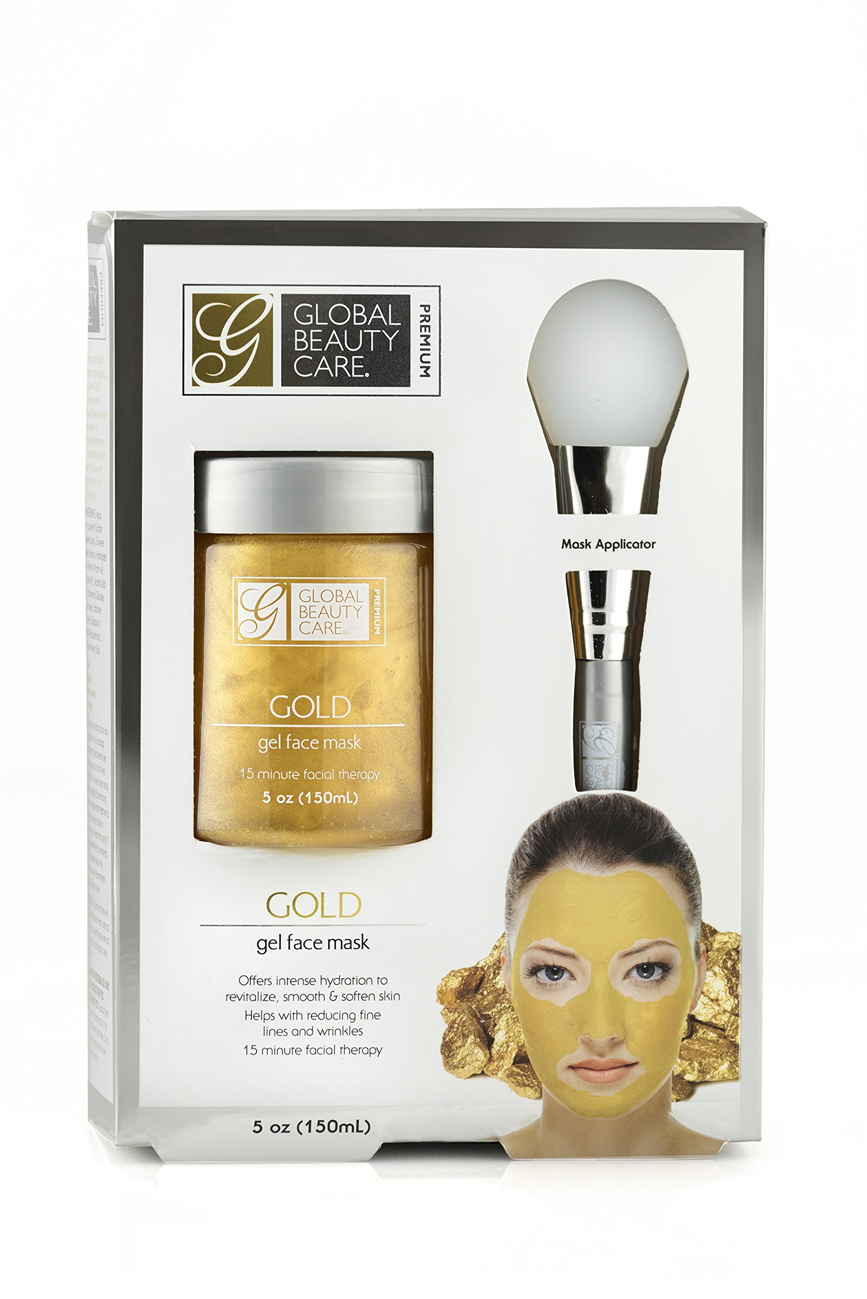 null - Gold: Gel Face Mask with Applicator