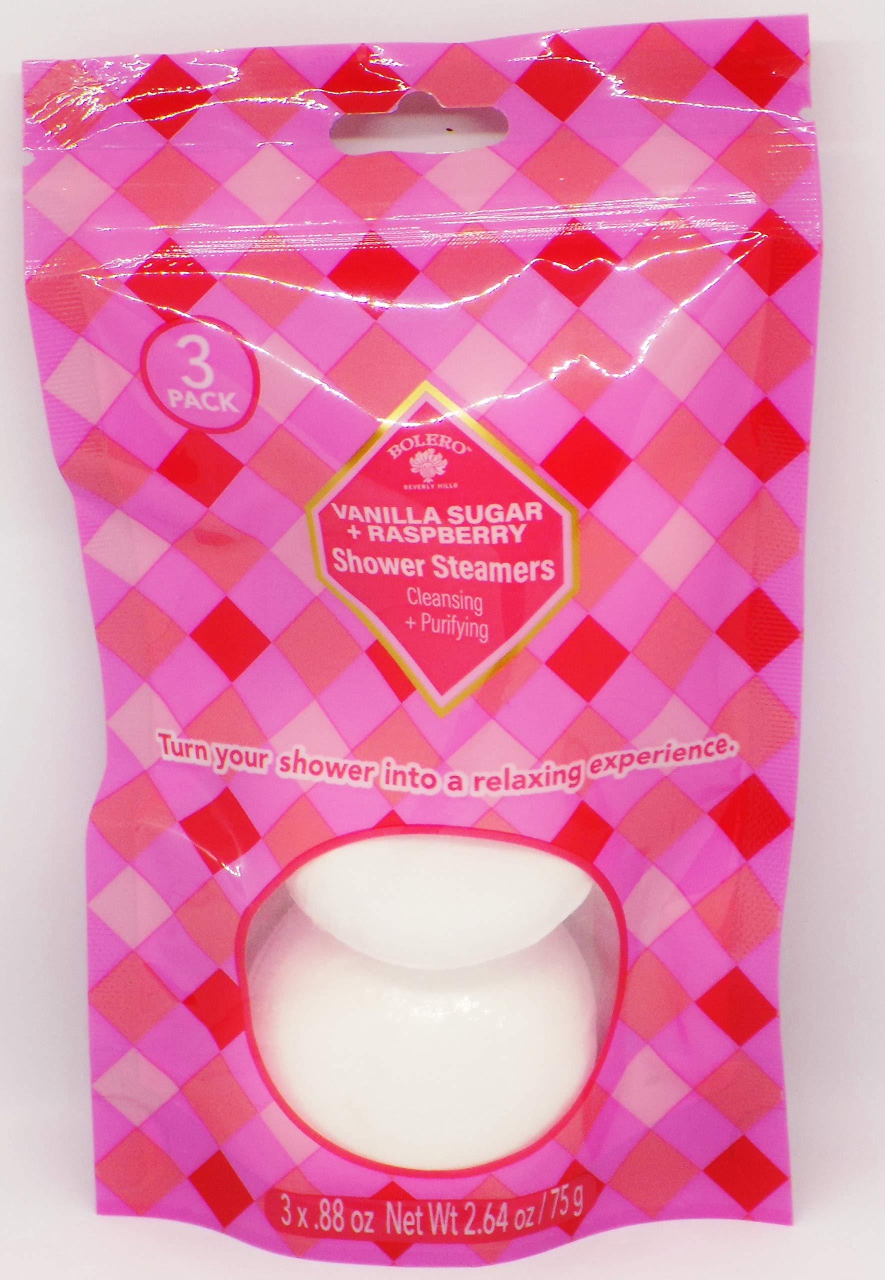 null - Bolero Vanilla Sugar & Raspberry Shower Steamers