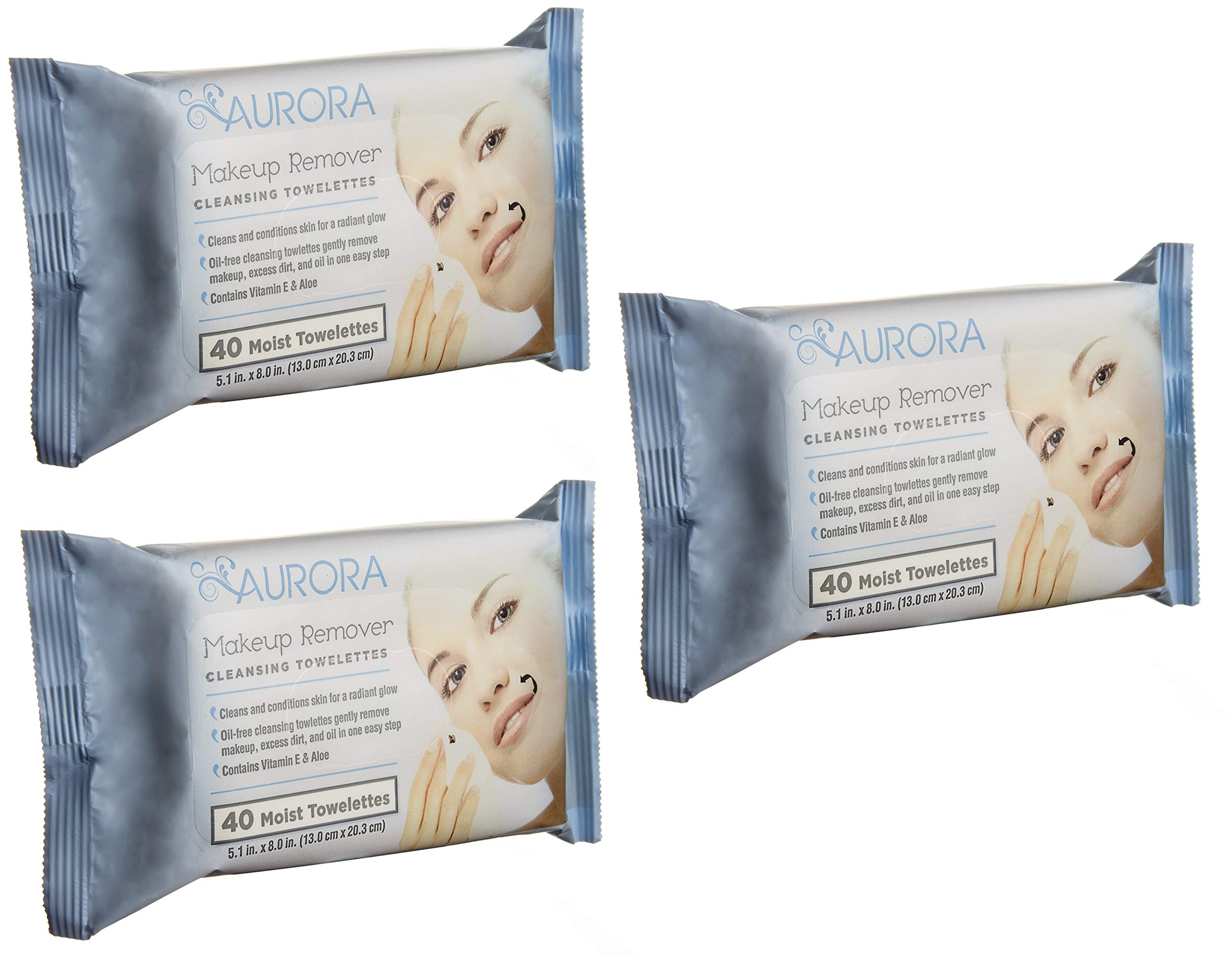 Aurora - Makeup Remover Cleansing Towelettes