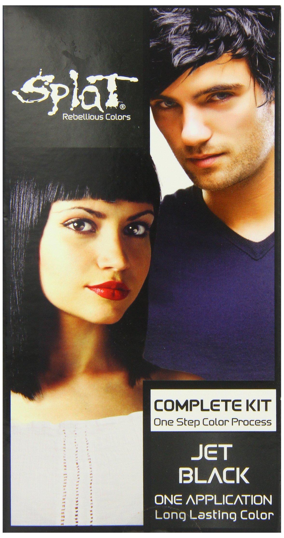 Splat - Splat Rebellious Colors Hair Coloring Kit Jet Black