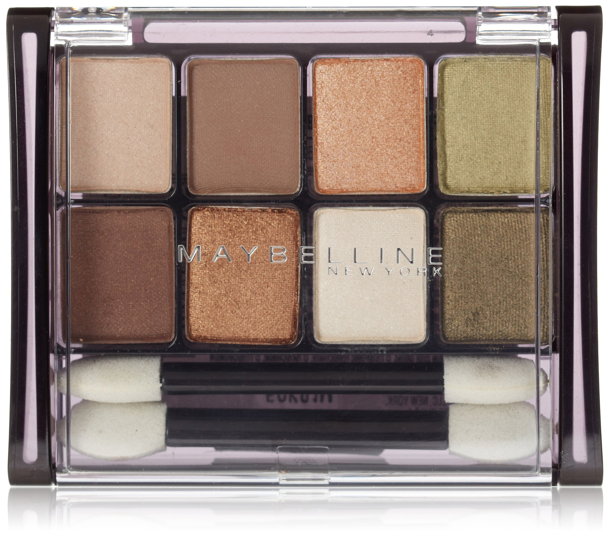 Maybelline New York - Maybelline New York Expert Wear Eyeshadow 8-Pan, Sunbaked Neutrals 10, 0.22 Ounce
