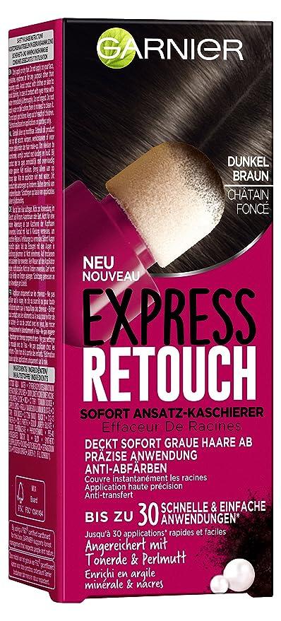 Garnier Garnier Express Retouch Root Concealer for Dark Brown Hair, 10 ml