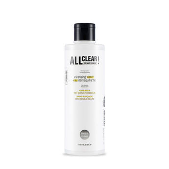 The Face Shop - The Face Shop All Clear One Swipe Makeup Removal Cleansing Water(250ml)