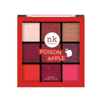 Nicka K - Nicka K Nine Color Eyeshadow Palette - Poison Apple(11.7gm)
