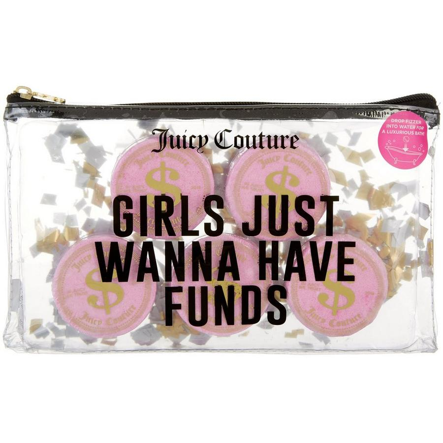 Juicy Couture - Juicy Couture Girls Just Wanna Have Funds Bath Fizzer Set