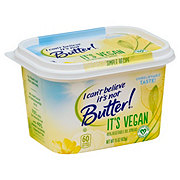 H-E-B | No Store Does More - I Can't Believe It's Not Butter It's Vegan Vegetable Spread - Shop Butter & Margarine at H-E-B