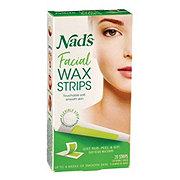 null - Nad's Facial Wax Strips - Shop Depilatories & Wax at H-E-B