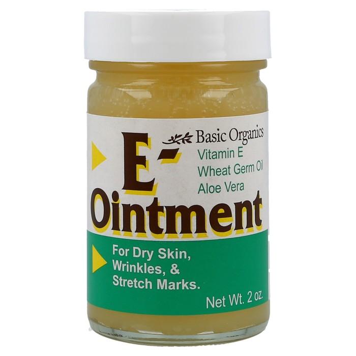 null - Basic Organics E-Ointment - 2 OZ