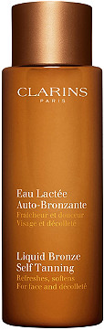 Clarins - Liquid Bronze Self Tanning for Face and Décolleté