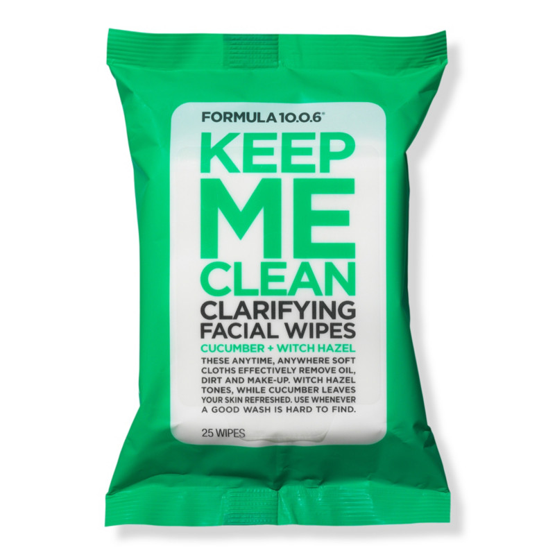null - Formula 10.0.6 Keep Me Clean Purifying Facial Wipes