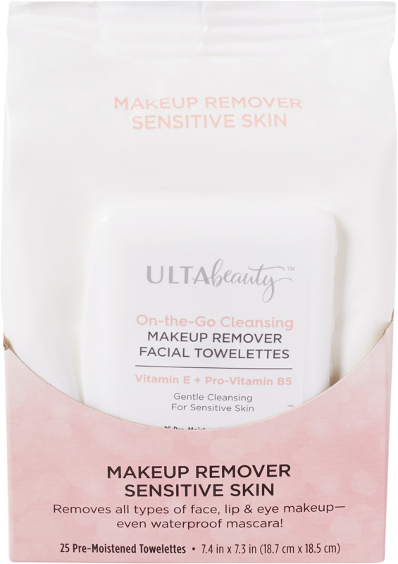 ULTA Sensitive Skin Facial Cleansing Towelettes