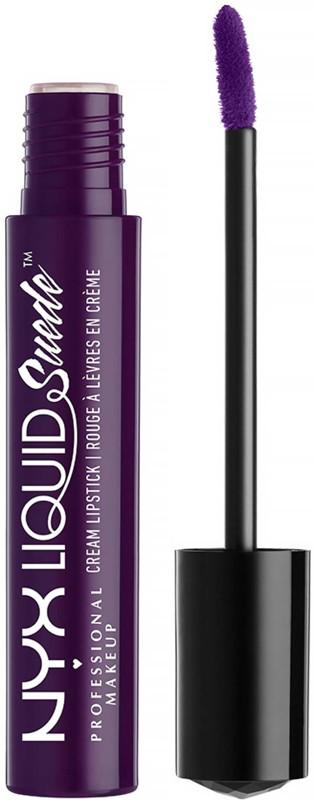 NYX - Liquid Suede Cream Lipstick, Foul Mouth