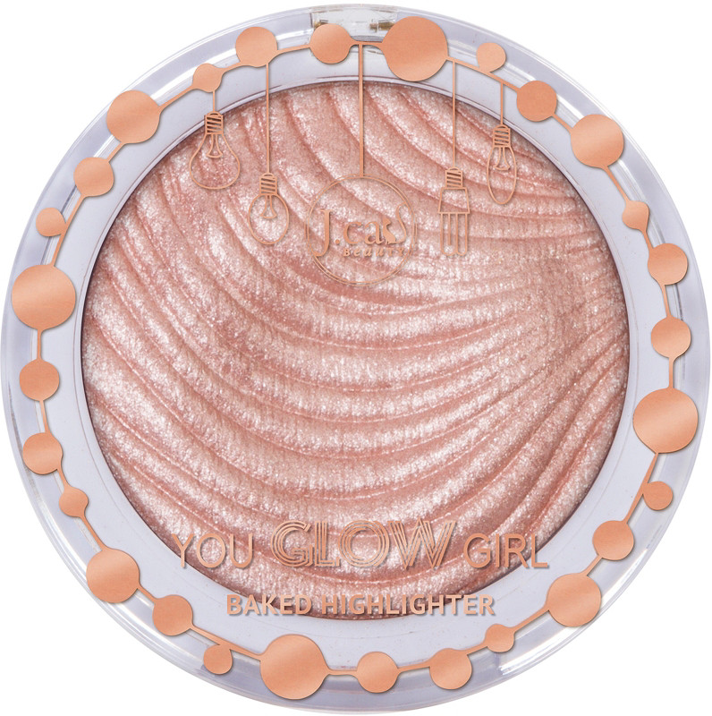 J.Cat J.Cat Beauty Online Only You Glow Girl Baked Highlighter