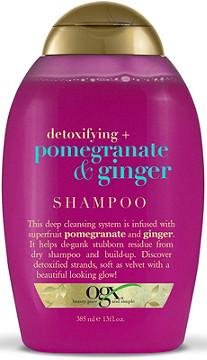 OGX - Detoxifying + Pomegranate & Ginger Shampoo