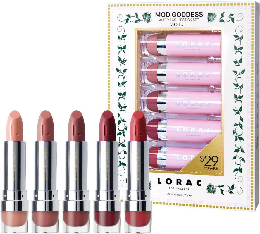 Lorac - Mod Goddess Alter Ego Lipstick Set Vol. I