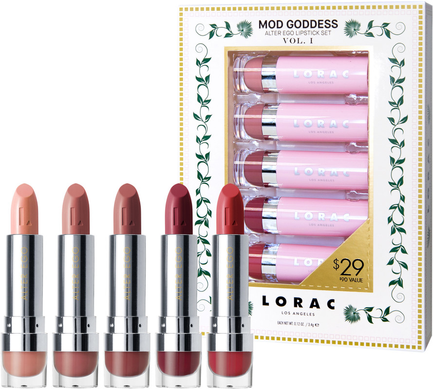 Lorac - Mod Goddess Alter Ego Lipstick Set Vol. I