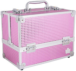 Caboodles - Pink Bubble Stylist Train Case