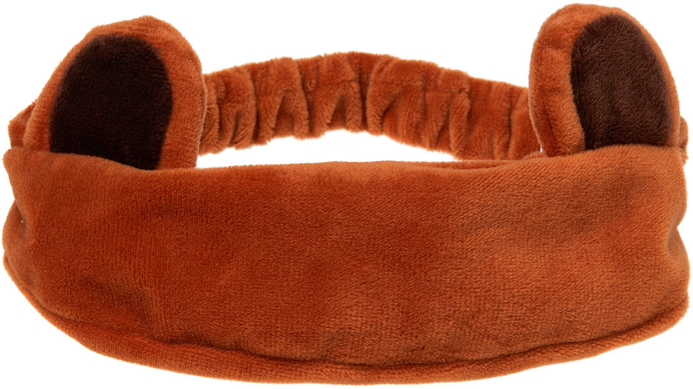 I Dew Care  - Bear Headband Brown
