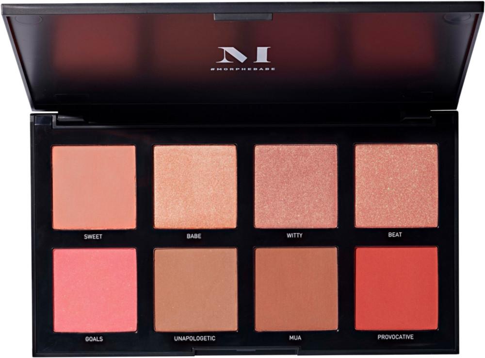 Morphe - Morphe 8W Warm Master Blush Palette