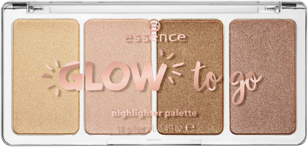 null - Essence Glow To Go Highlighter Palette