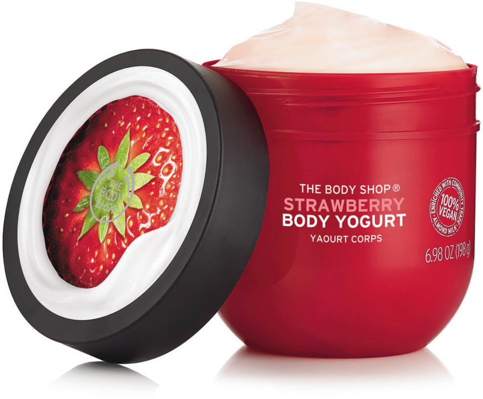 The Body Shop - The Body Shop Strawberry Body Yogurt