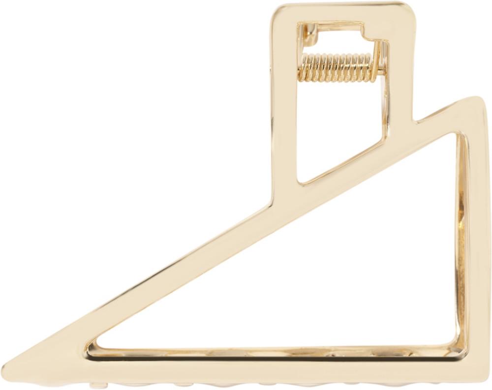 Kitsch - Kitsch Gold Triangle Open Claw Clip