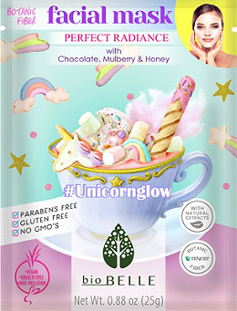 Biobelle - #UnicornGlow Tencel Sheet Mask