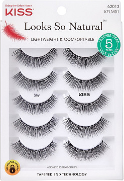 Kiss - Looks So Natural Lash Shy, Multipack