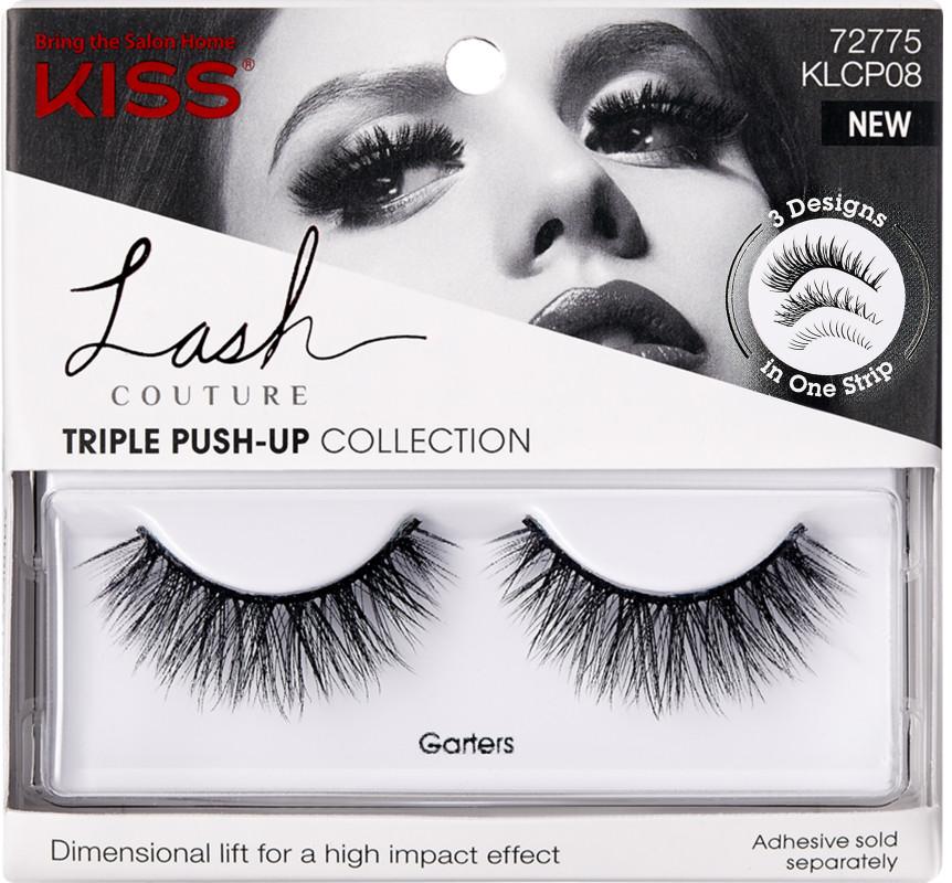 Kiss - Lash Couture Triple Push-Up, Garters