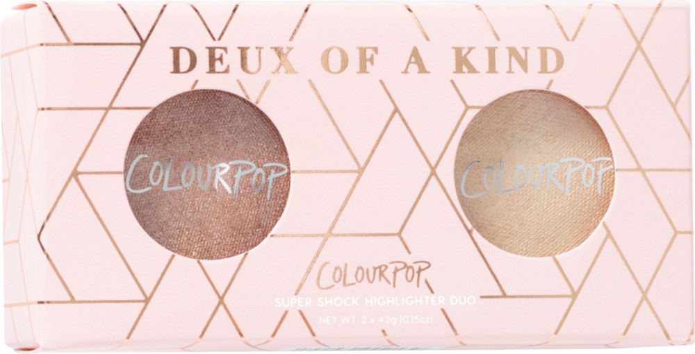 ColourPop - Deux Of A Kind Super Shock Highlighter Duo