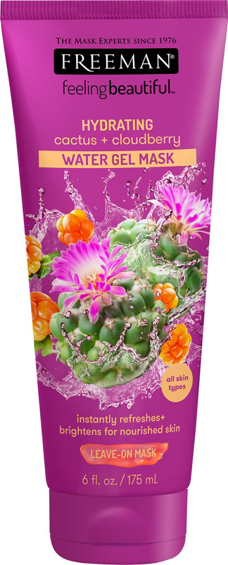 Freeman - Hydrating Cactus & Cloudberry Water Gel Mask