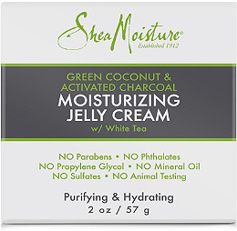 Shea Moisture - Green Coconut & Activated Charcoal Moistuizing Jelly Cream