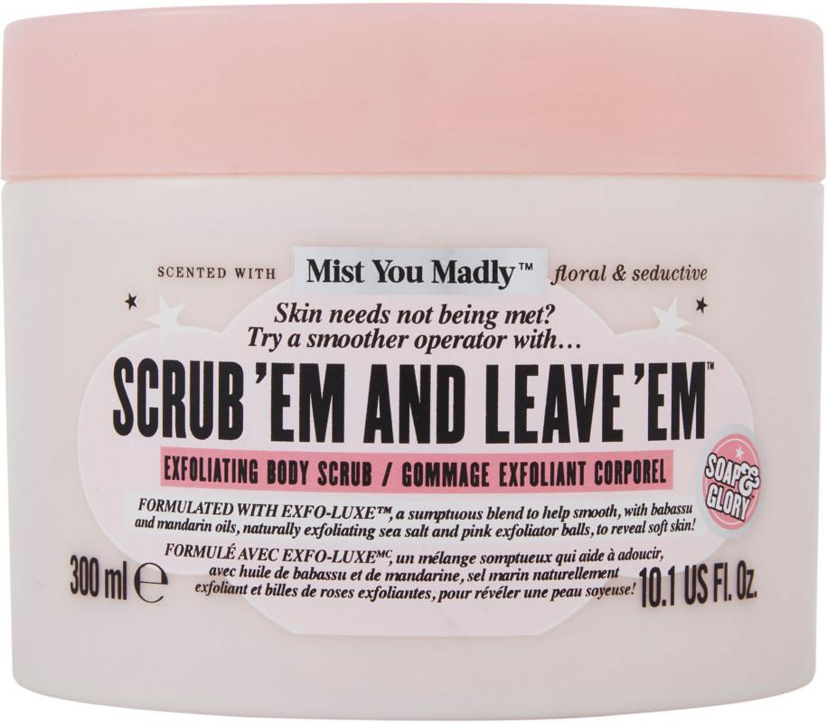 Soap & Glory - Scrub 'Em And Leave 'Em Body Scrub