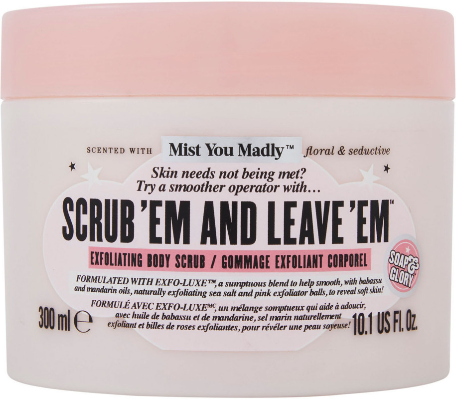 Soap & Glory - Scrub 'Em And Leave 'Em Body Scrub