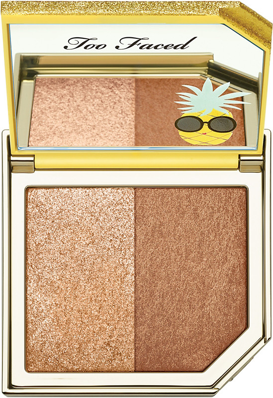 Too Faced Too Faced Tutti Frutti - Pineapple Paradise Strobing Bronzer Highlighting Duo