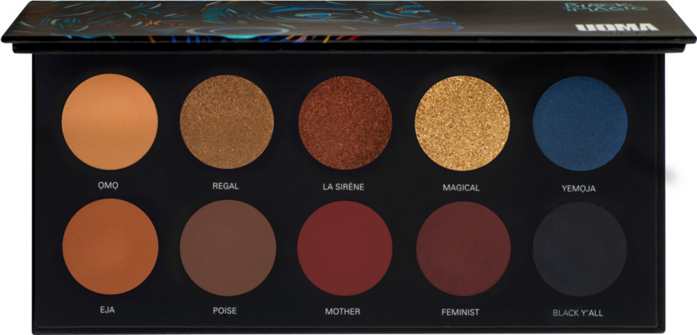 null - UOMA Beauty Poise Black Magic Color Palette