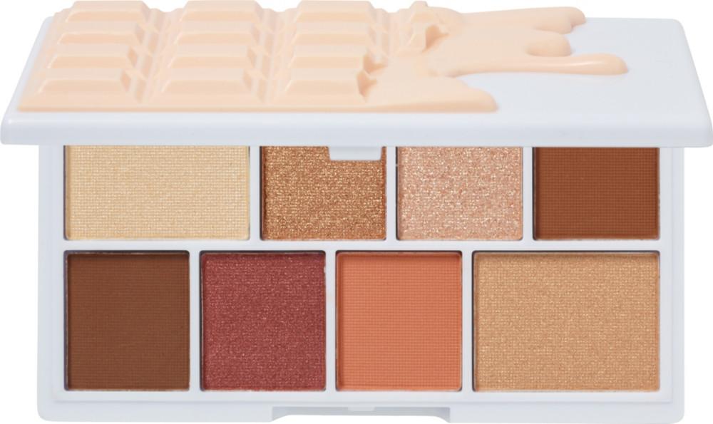 null - I Heart Revolution Nudes Chocolate Mini Eyeshadow Palette