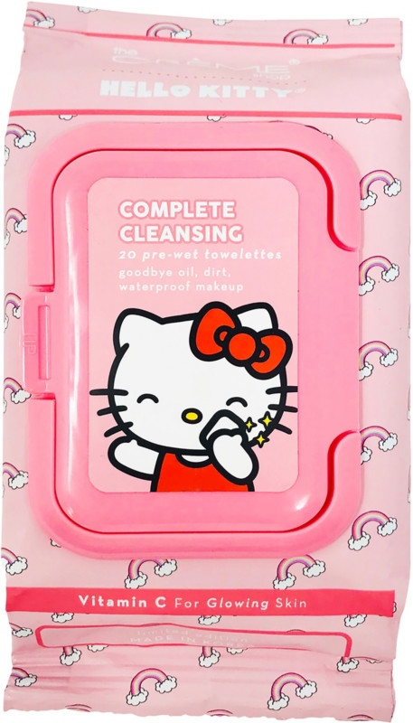 The Crème Shop - Hello Kitty Complete Cleansing Vitamin C Towelettes
