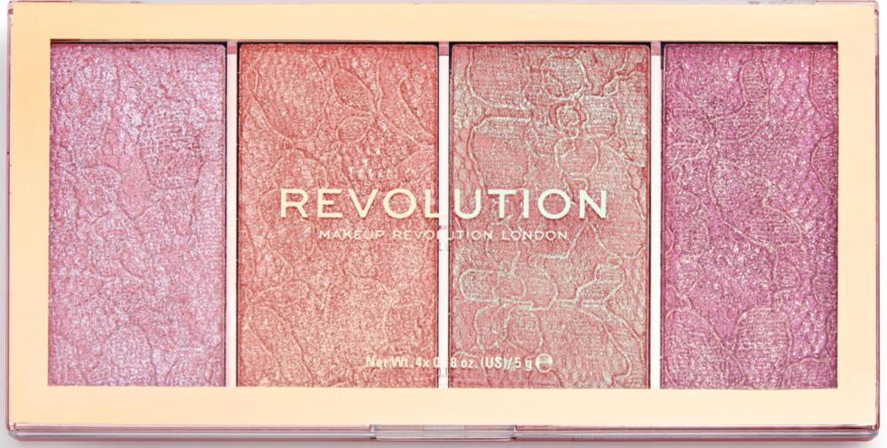 Makeup Revolution - Makeup Revolution Vintage Lace Blush Palette
