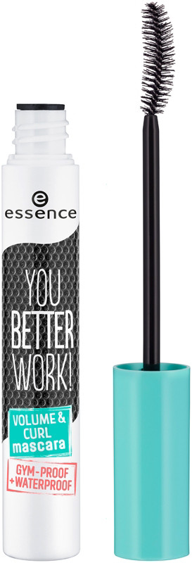 null - Essence You Better Work! Volume & Curl Mascara