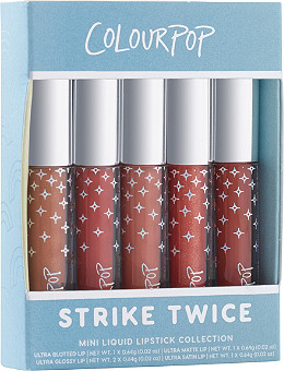 ColourPop - ColourPop Strike Twice Mini Liquid Lipstick Collection