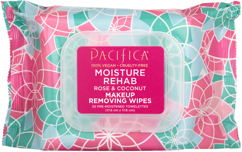 Pacifica - Pacifica Moisture Rehab Makeup Wipes