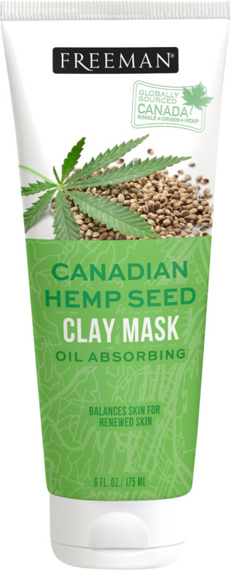 Freeman's - Canadian Hemp Seed Clay Mask