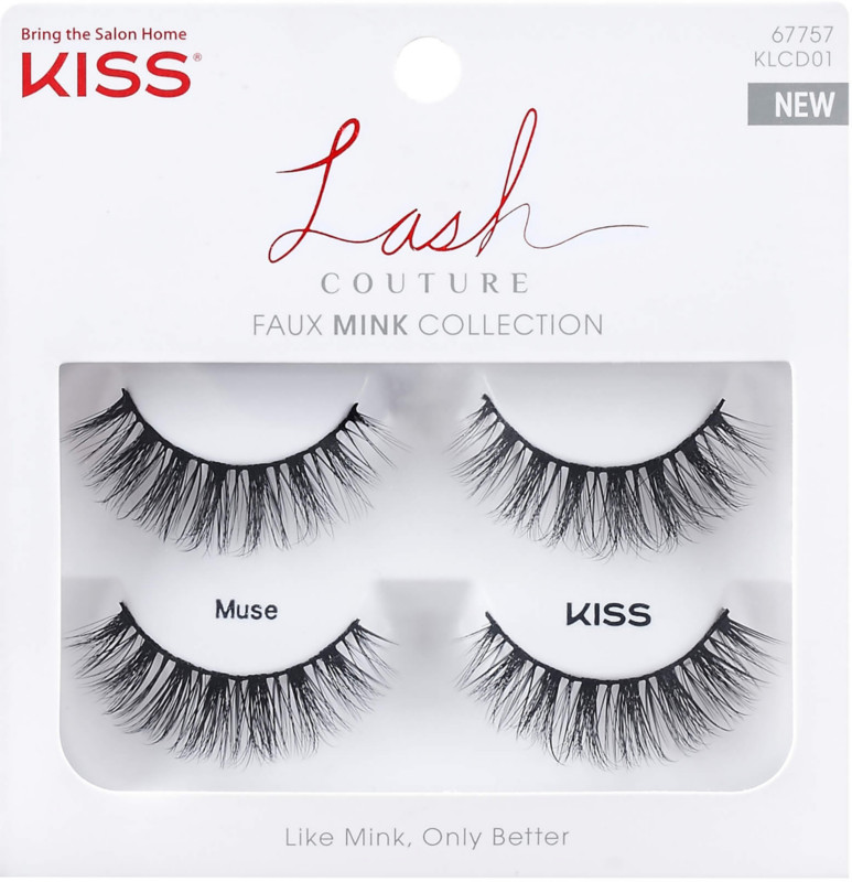 Kiss - Kiss Lash Couture Faux Mink, Muse Double Pack
